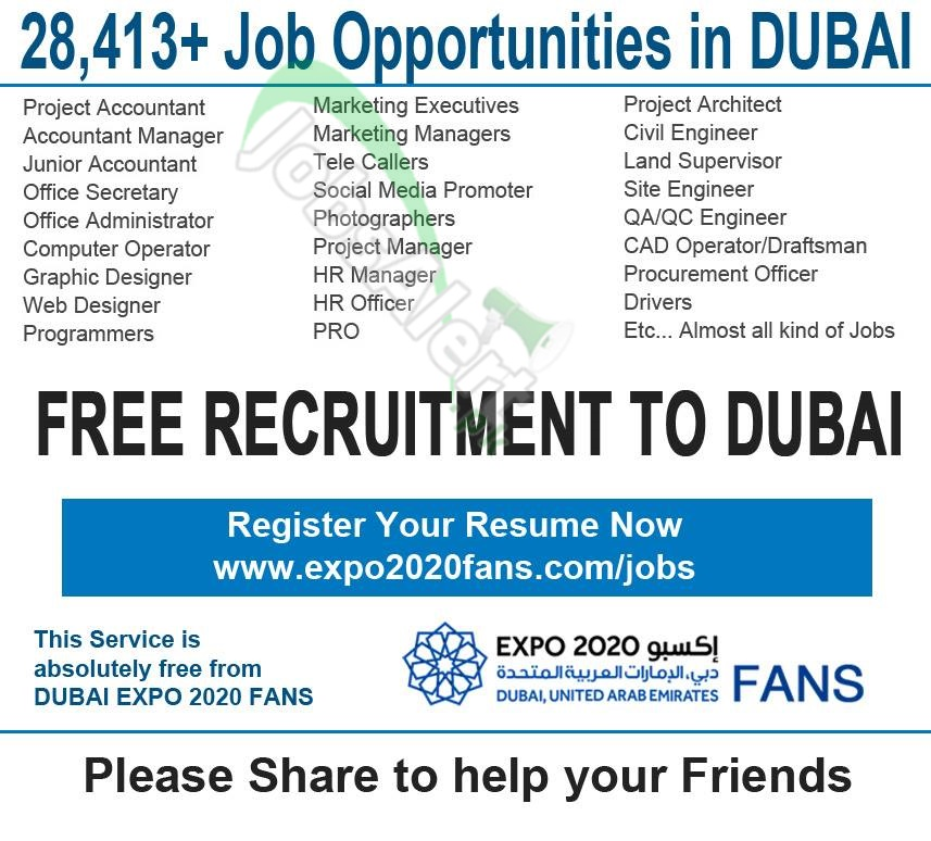 Jobs in Dubai: Find latest jobs and vacancies in Dubai with top employers and recruitment agencies.