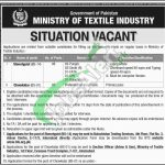 Ministry of Textile Industry Jobs