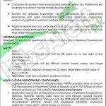 Employment Opportunities for CFO in Pakistan International Airlines 29 Feb 2016