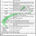 District Jinnah Public School MBDIN Jobs