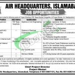 Pak Air Force Jobs