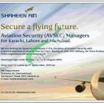 Shaheen Airline Jobs