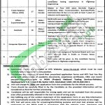 Pakhtunkhwa Highways Authority Jobs