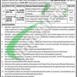 Elementary and Secondary Education KPK Jobs