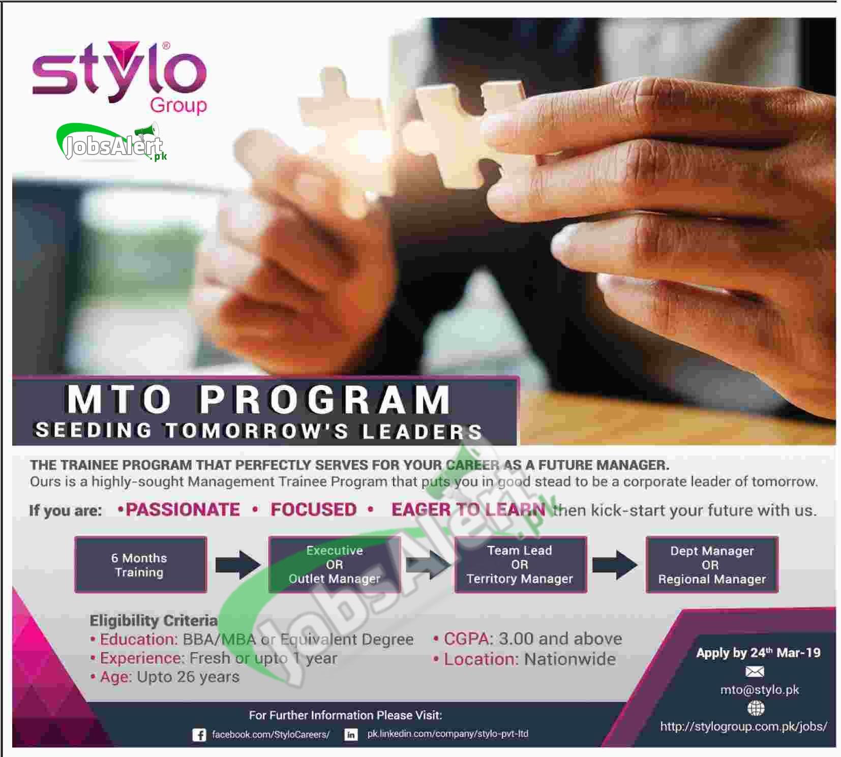 Stylo MTO Program
