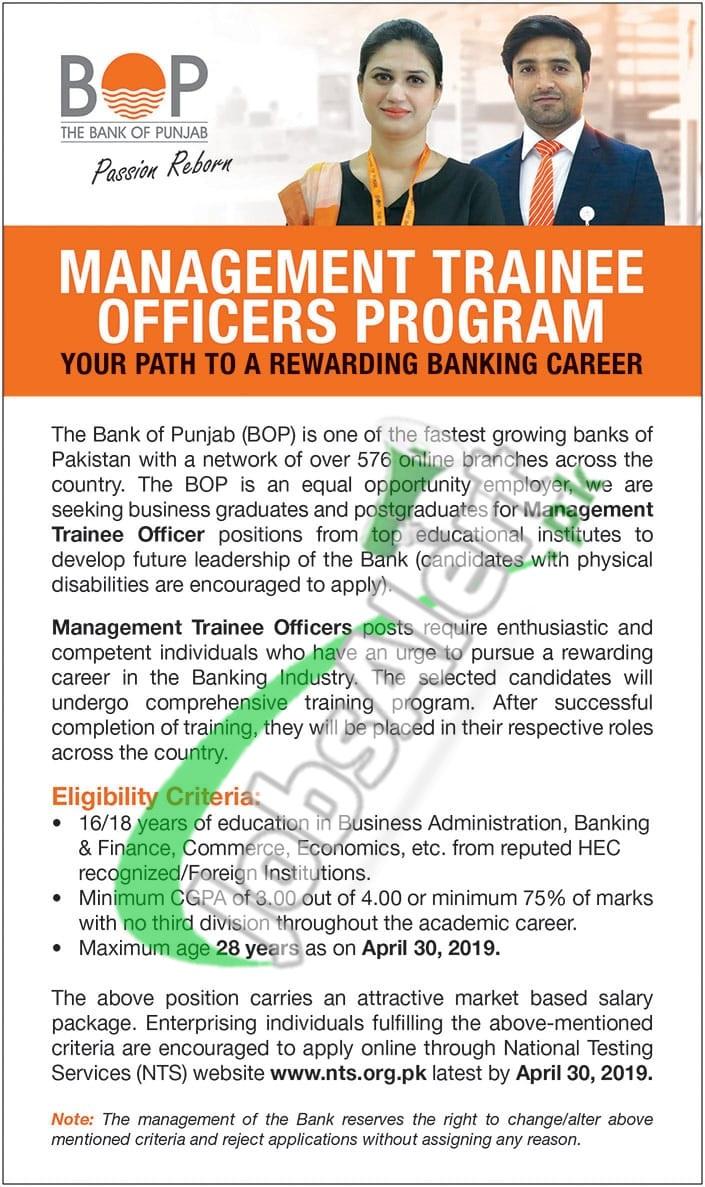 BOP MTO Jobs 2019