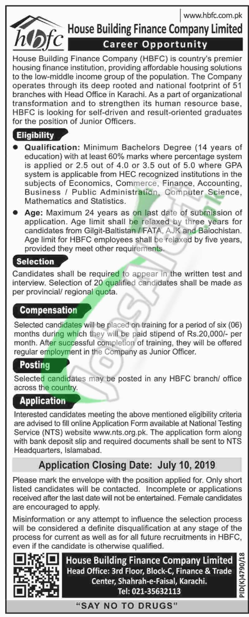 HBFC Jobs