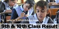 9th & Matric 10th Class Result 2013 BISE Lahore Board