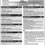 Jobs for Assistant Registrar & Admin Officer in University of Gujrat (UOG)