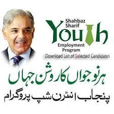 Punjab Youth Internship Program 2014 Candidates List