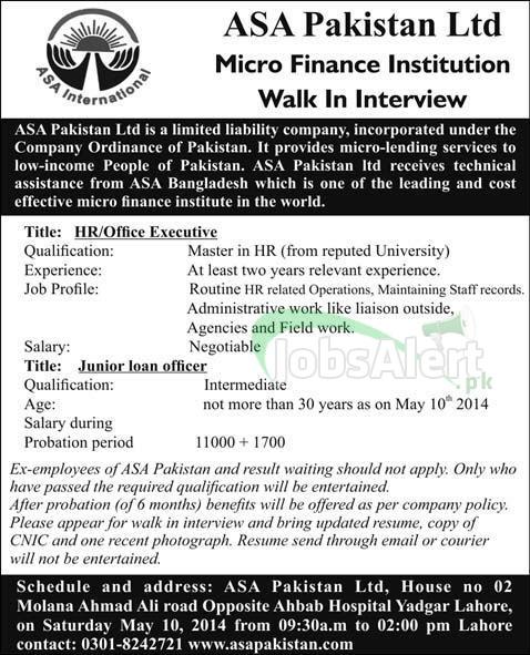 ASA Pakistan Ltd