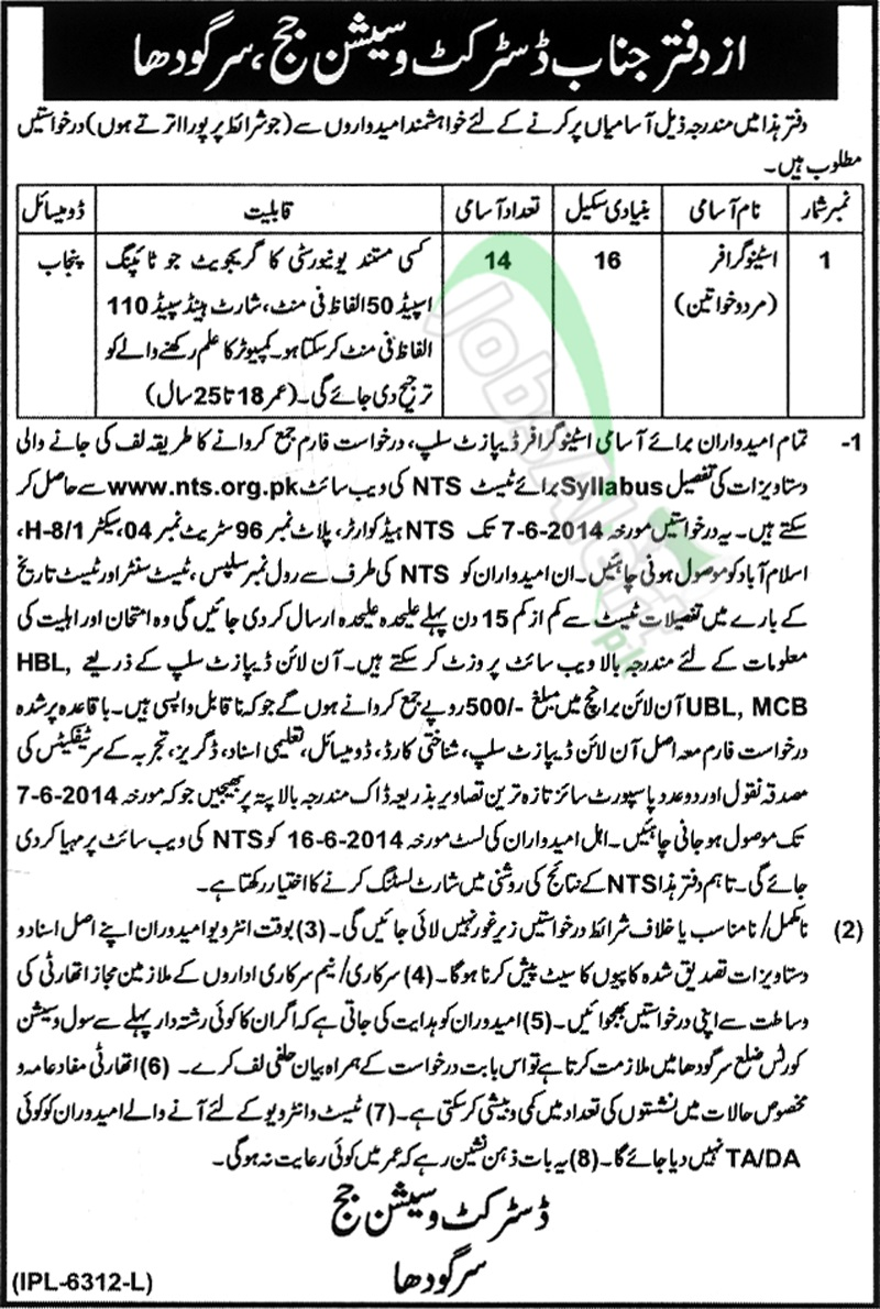 District and Session Court Sargodha