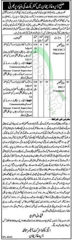 Health Department DG Khan