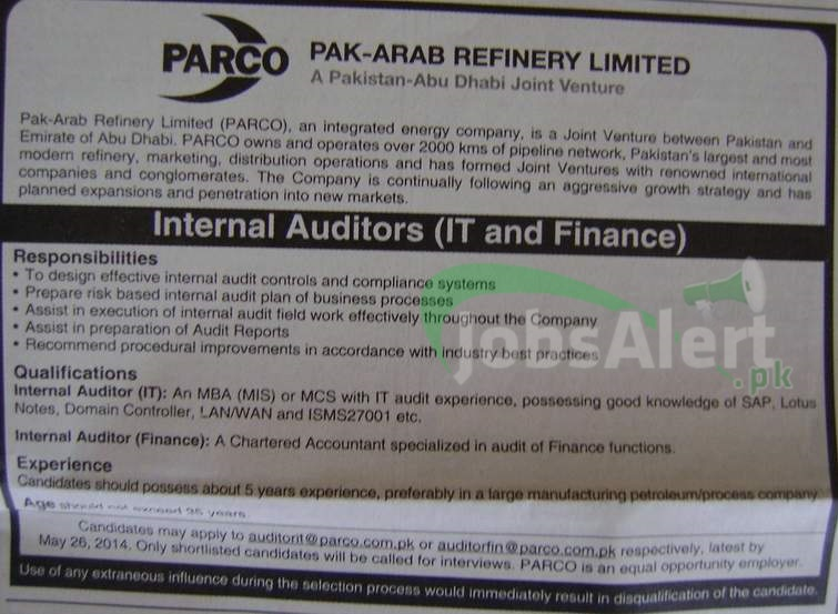 Pak Arab Refinery Limited (PARCO)