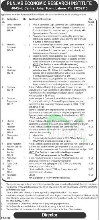 Punjab Economic Research Institute