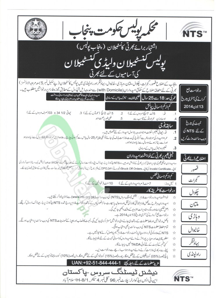 Punjab-Police-2014-744x1024 Job Application Forms on part time, free generic, blank generic,