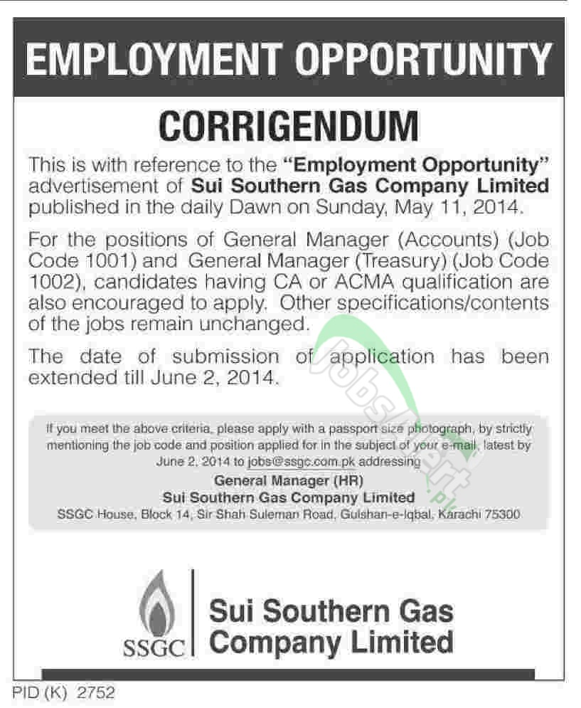 Sui Southern Gas Company Ltd. (SSGC)