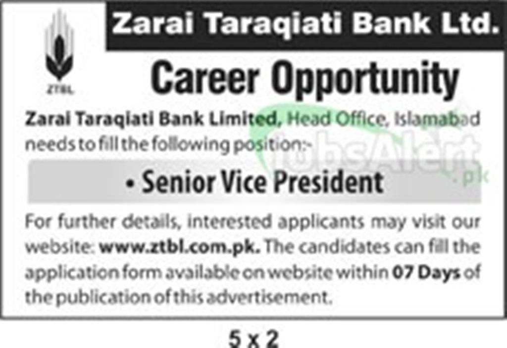 Zarai Taraqiati Bank Ltd. ZTBL