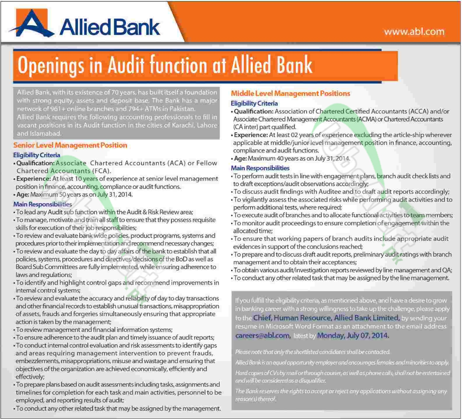 Allied-Bank-Limited Job Application Form Nust on part time, free generic, blank generic,