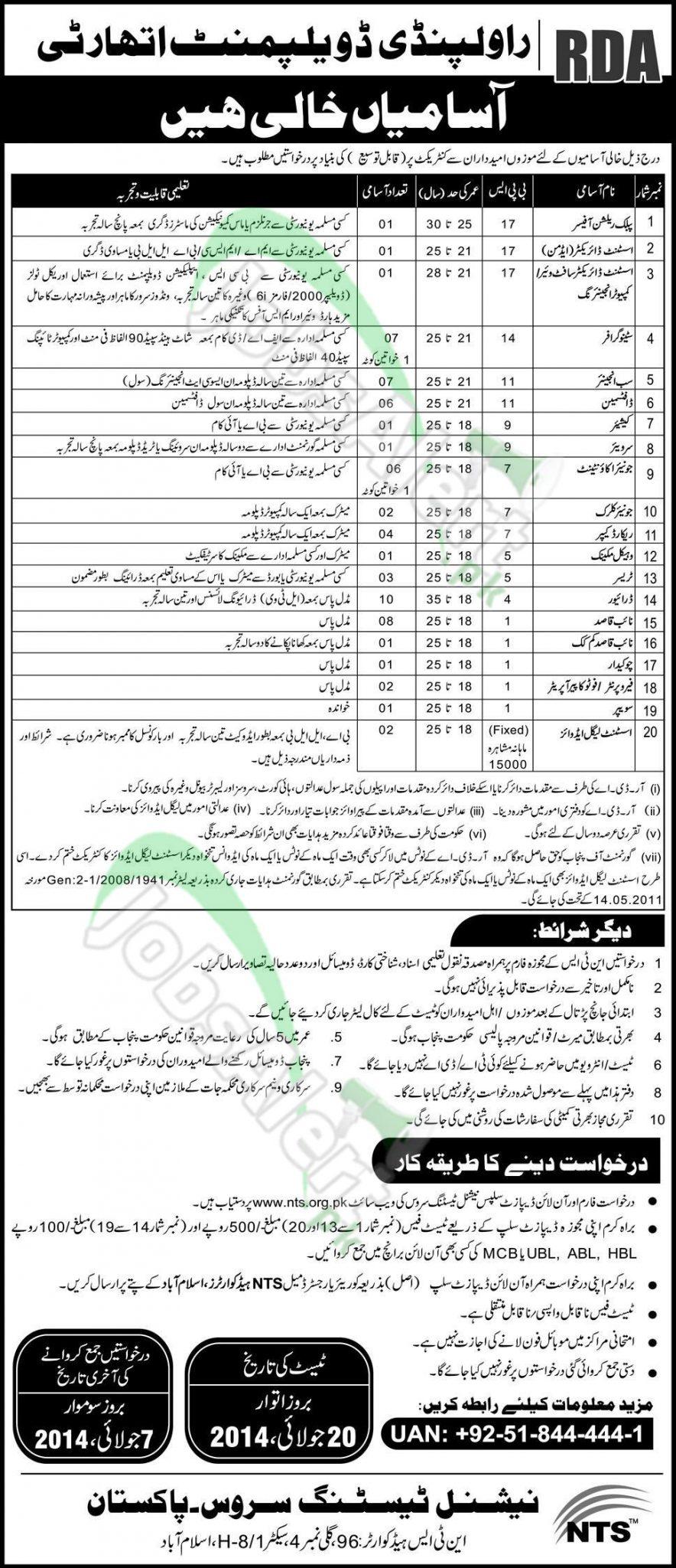 Rawalpindi Development Authority RDA