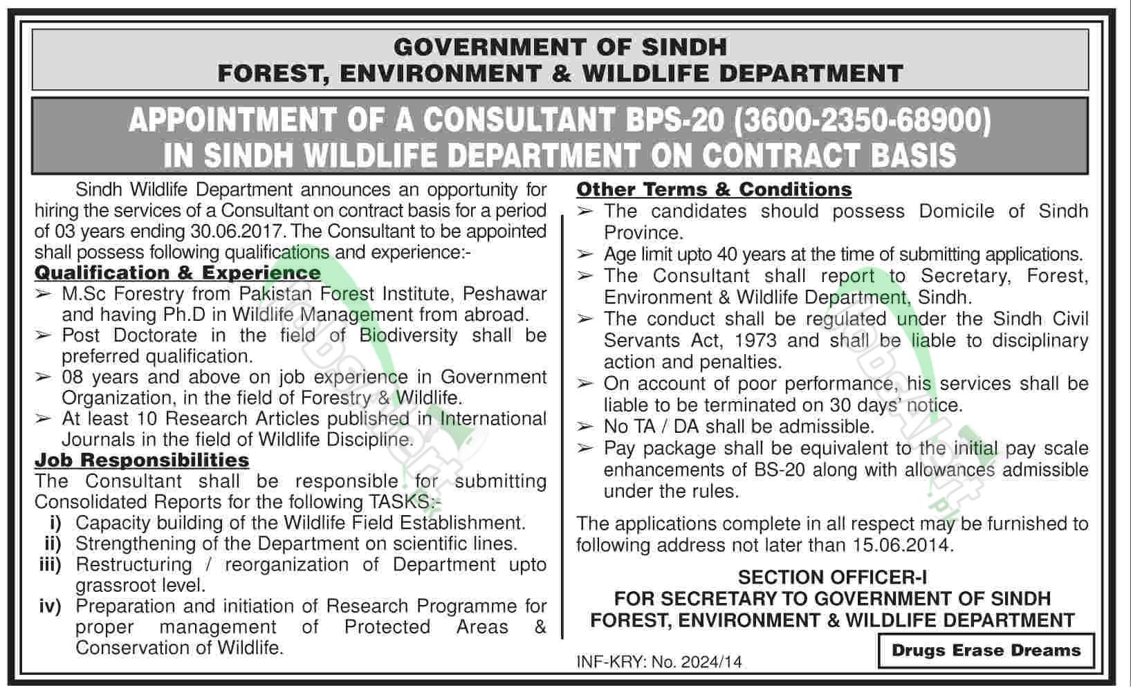 Sindh Forest Department