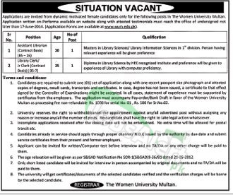 The Women University Multan (WUM)