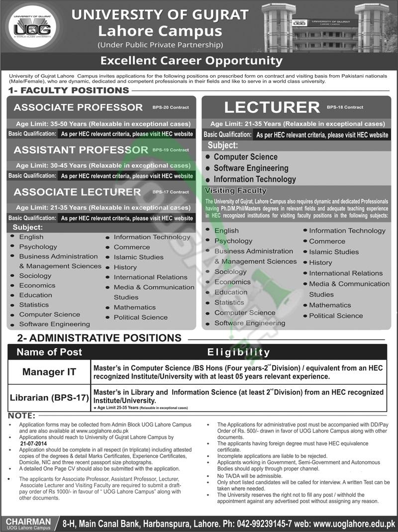 UOG Lahore Campus