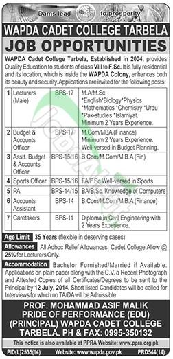 Wapda Cadet College Tarbela