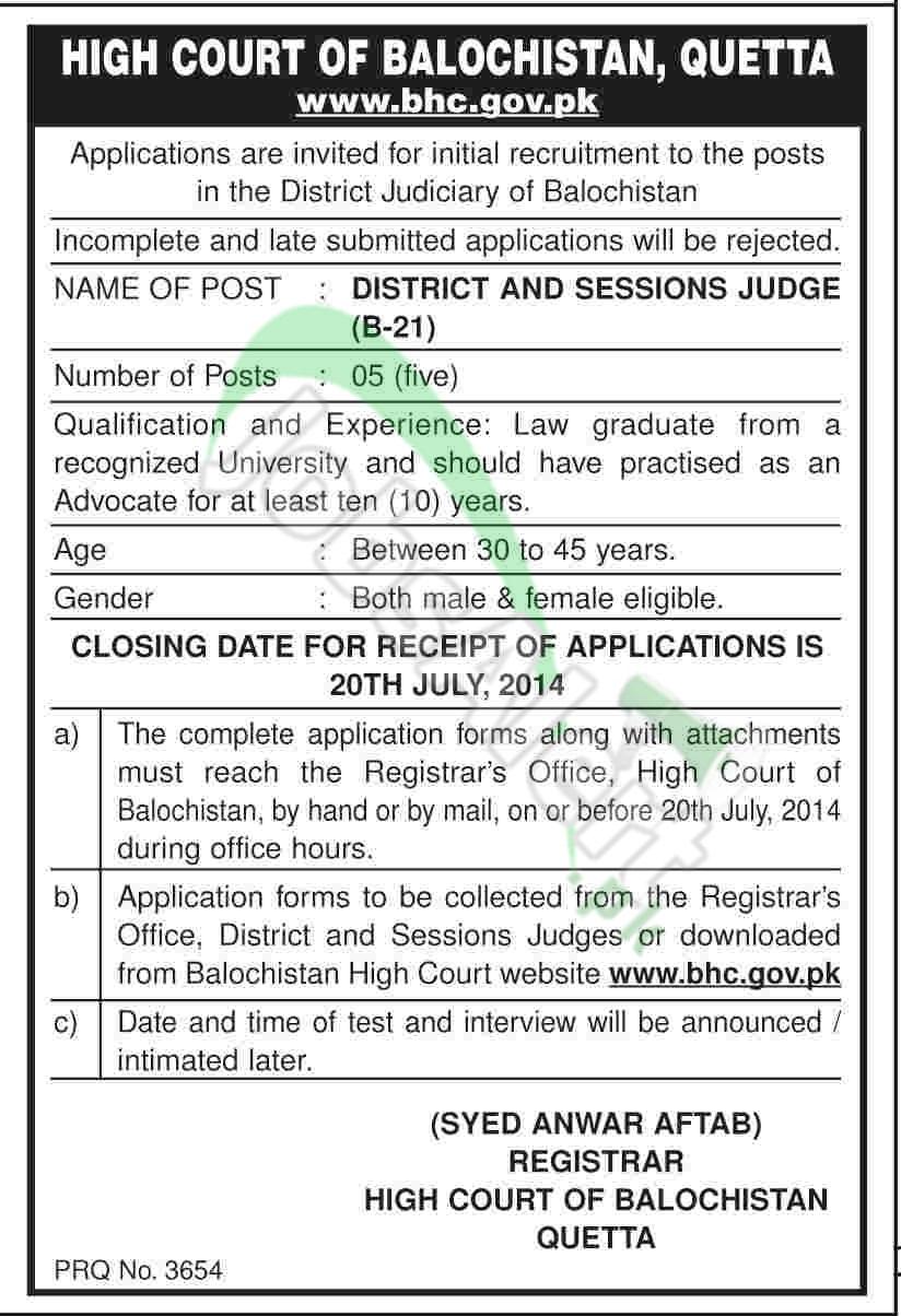 High Court of Balochistan