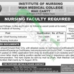 Institute of Nursing Wah Medical College, Wah Cantt