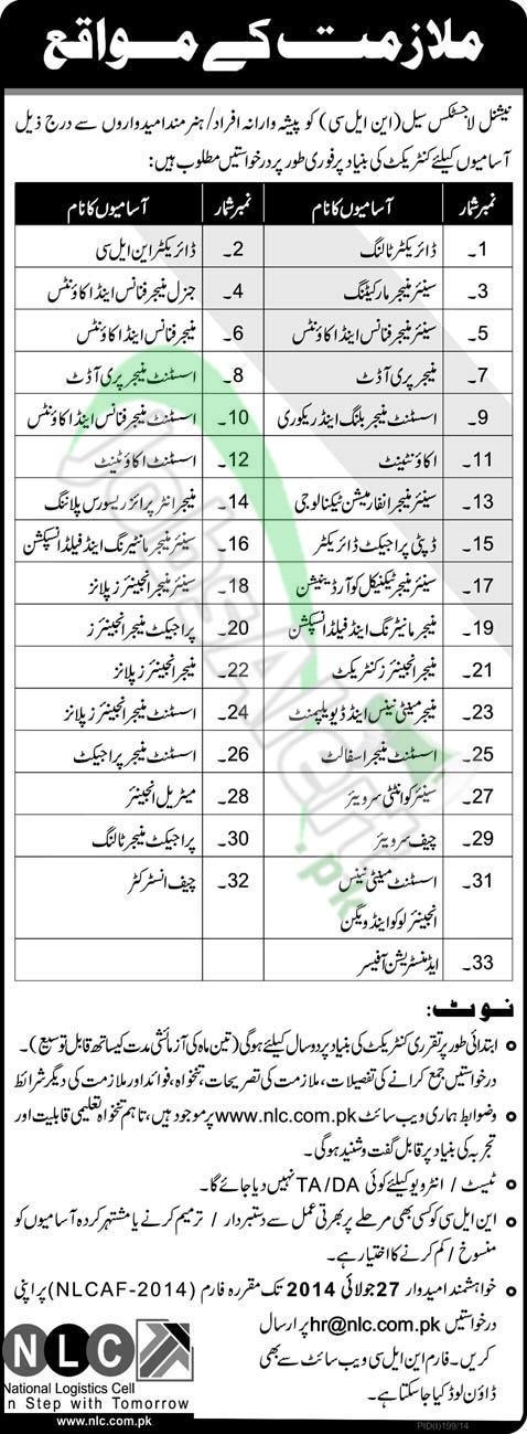 National Logistics Cell (NLC) Pakistan