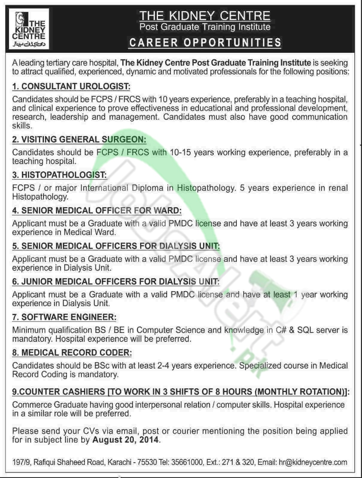 The Kidney Centre Karachi