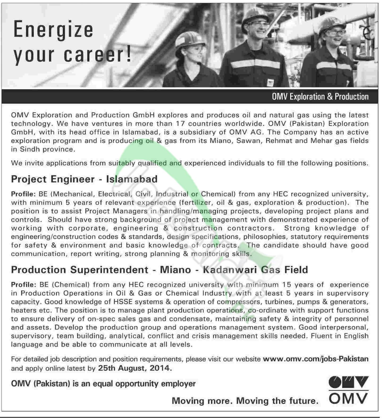 OMV Exploration & Production Pakistan