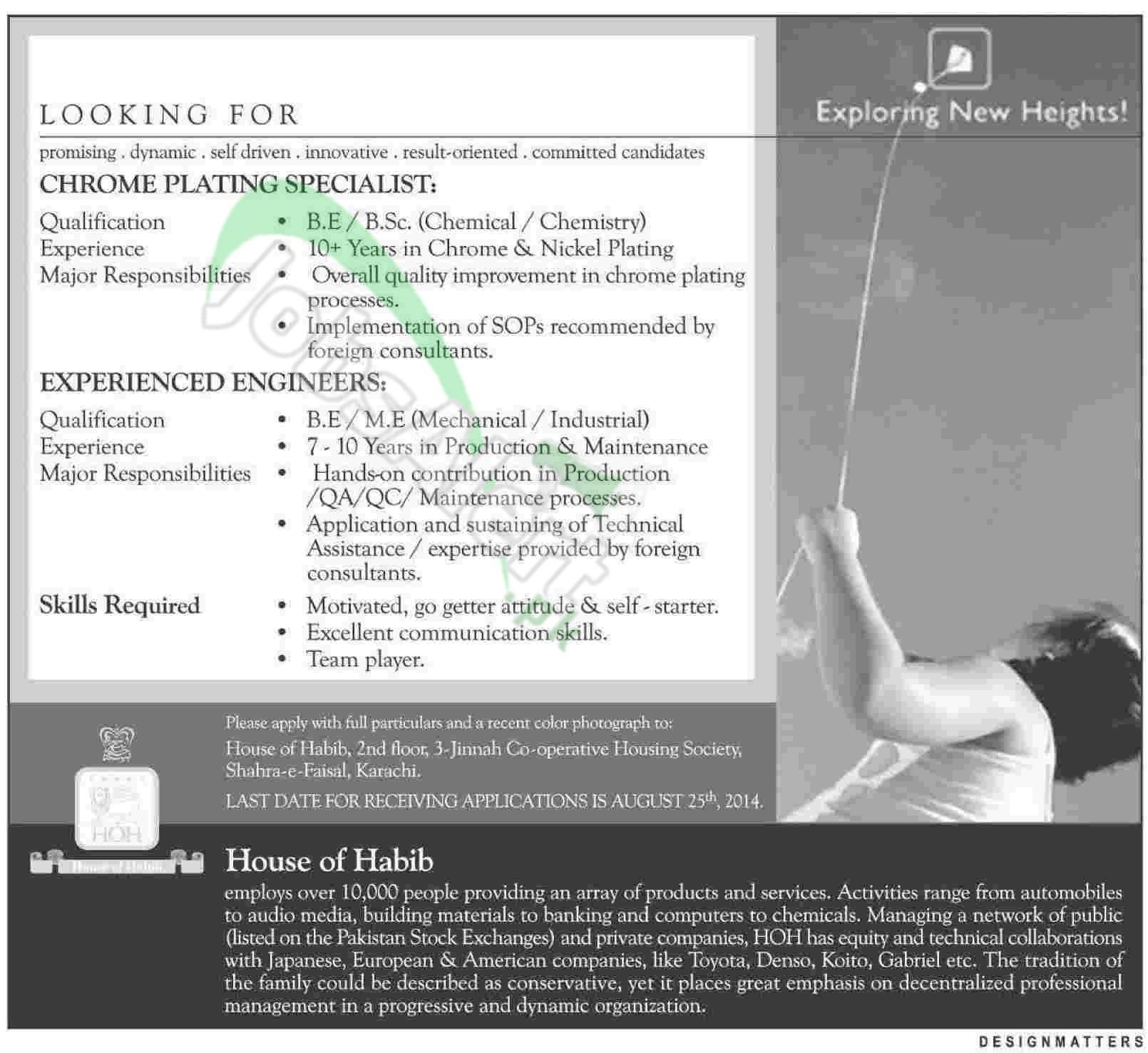 House of Habib (HOH) Karachi