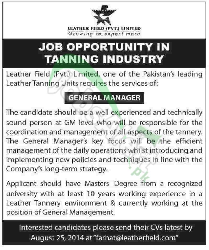 Leather Field Pvt Ltd