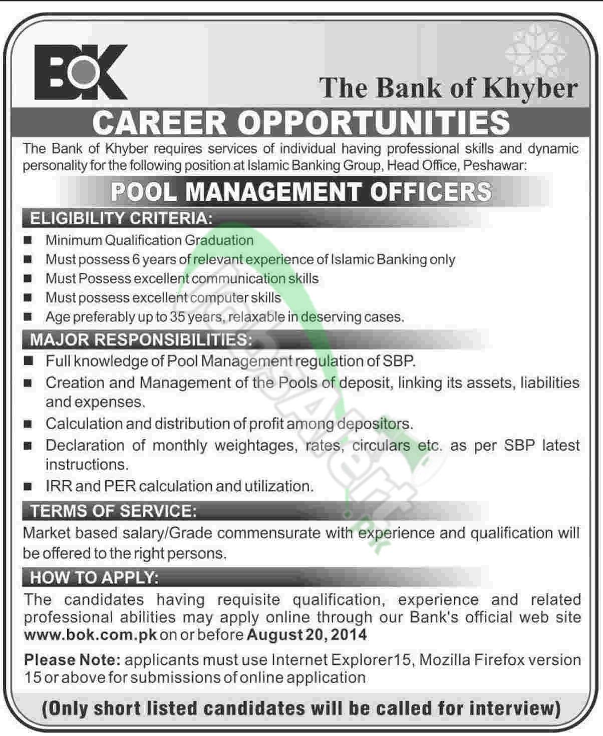 The Bank of Khyber Peshawar