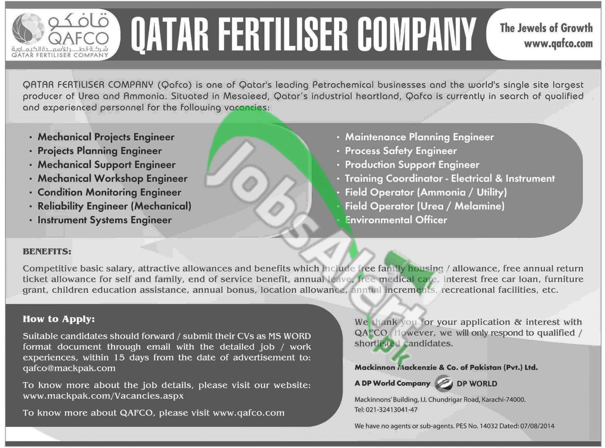 Qatar Fertiliser Company (Qafco) Qatar