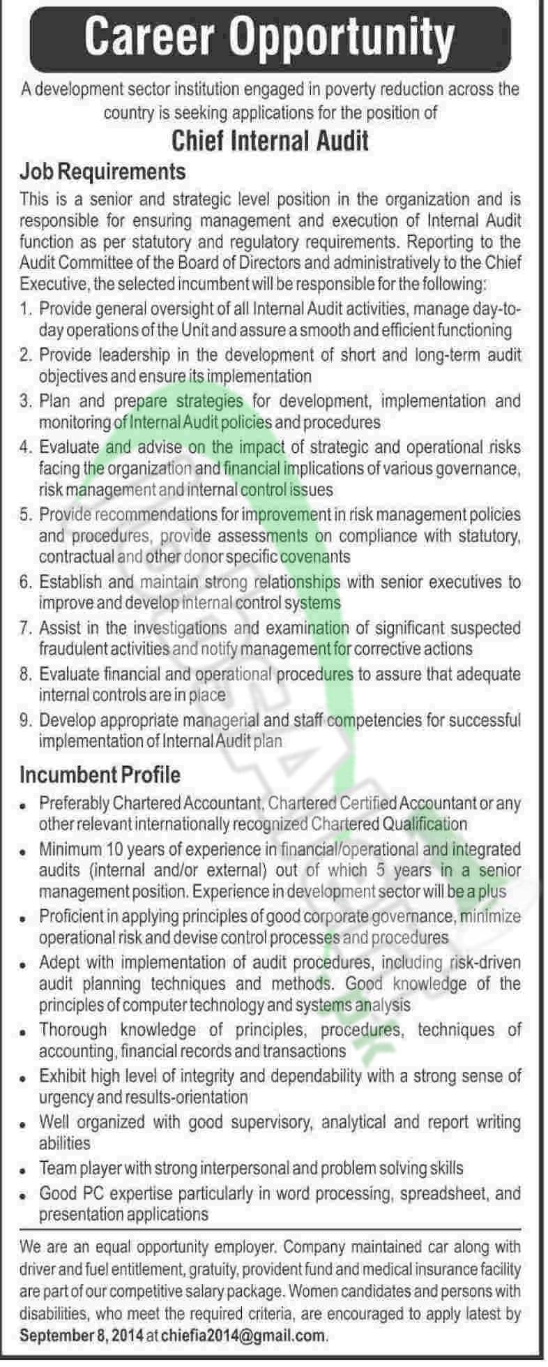 Development Sector Institution