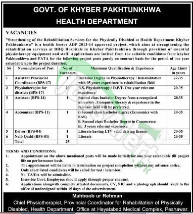 Health Department KPK