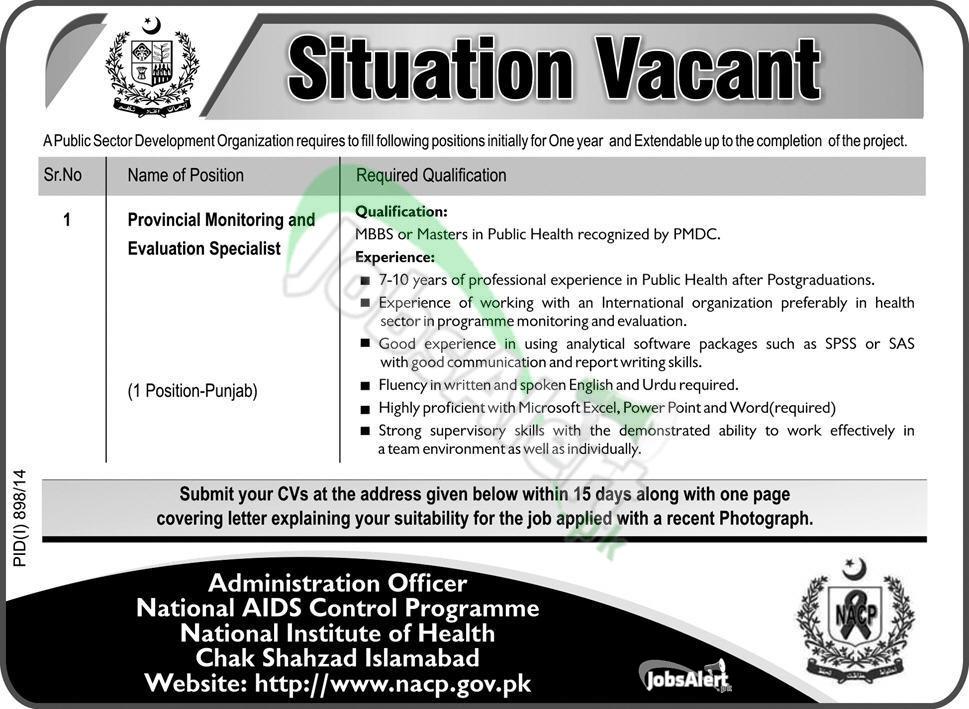 NACP Govt of Pakistan