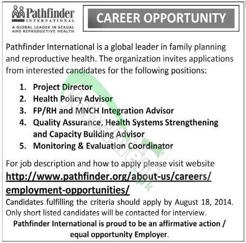 Pathfinder International Pakistan