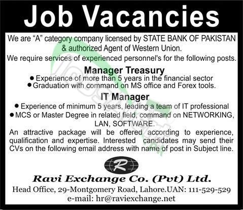 Ravi Exchange Company Pvt Ltd Lahore