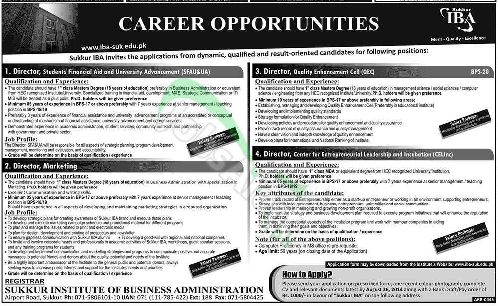 Sukkur Institute of Business Administration
