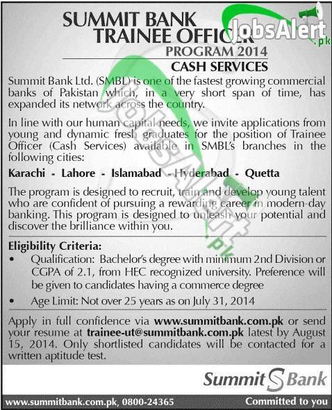 Summit Bank Pakistan