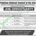 PNCA Islamabad Jobs