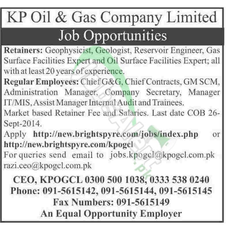 KP Oil & Gas Company Ltd
