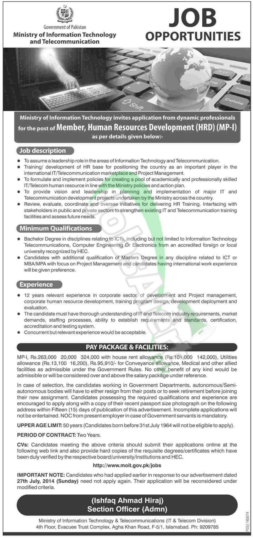 Business Management And Information Technology Jobs - Popular ...