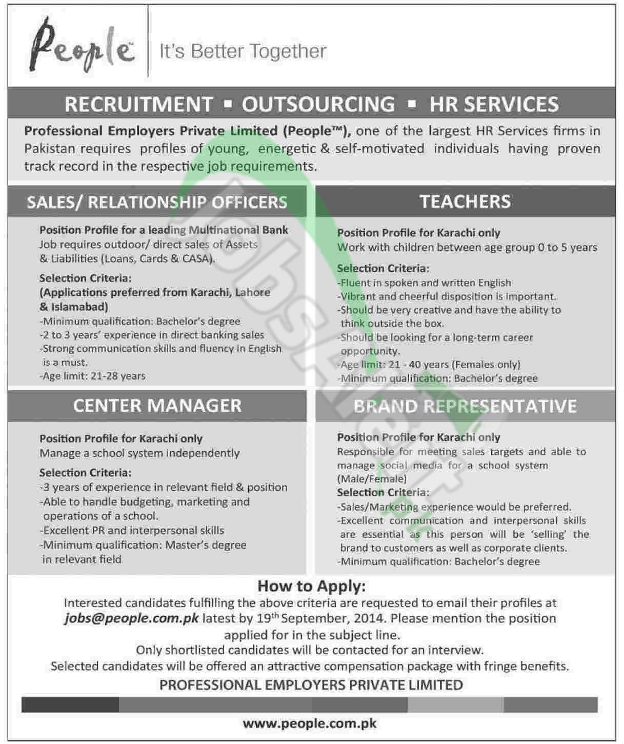 Professional Employers Pvt Ltd
