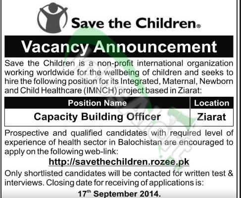 Save the Children Balochistan