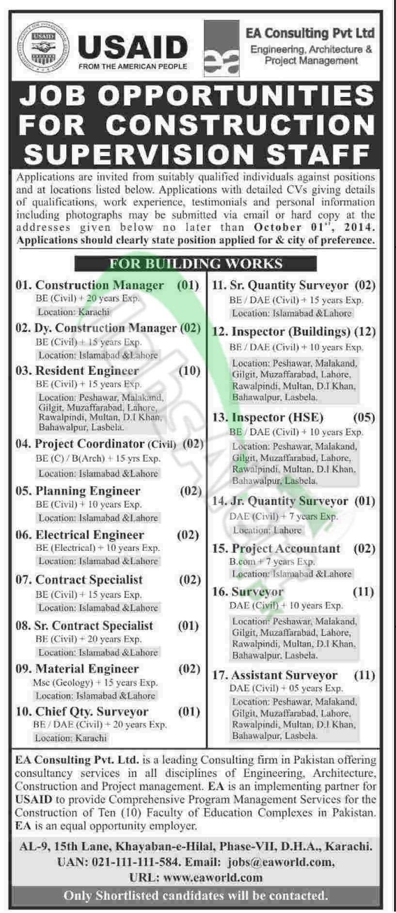 USAID & EA Consulting Pvt Ltd